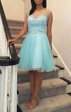 In Stock4-16 Brand New Hurndreds of beads Short Prom Dress Cocktail dress