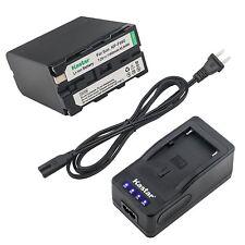 NP-F990 Battery or Ultra Fast Charger for Sony HVR-V1U HVR-Z1U HVR-Z5U HVR-Z7U