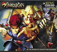 Thundercats Animated Art 16 Month 2013 Wall Calendar, NEW SEALED