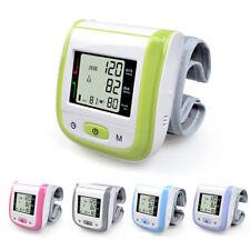 Home Wrist Blood Pressure Monitor Measure Hypertension tester Sphygmomanometer
