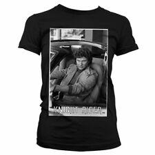 Licence Officielle Hasselhoff dans Knight Rider Femmes T-Shirt S-XXL tailles