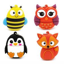 2TB 128GB USB 2.0 Flash Drive Memory Stick Pen Thumb U Disk Pendrive PC Owl Bee