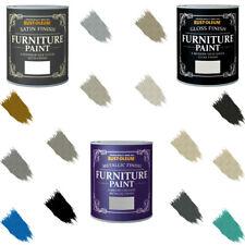 Rust-Oleum Gessoso mobili pittura lucido satinato opaco Laccatura METALLICA