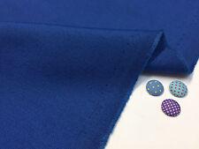 Plain Ottoman Fabric Curtains Upholstery Cotton Canvas Material 140cm Royal Blue