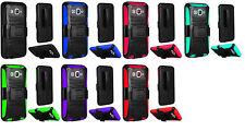 Clip + Hybrid Case Cover For Samsung Galaxy Sky S320VL Sol J3 J3V J3109 J320A