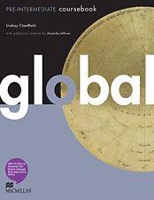 Global Pre-Intermedio por Lindsay Clandfield Libro De Bolsillo Nuevo