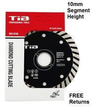 "Turbo Diamond Cutting Disc 115mm 4.5"" General Purpose 10mm Segment"