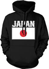 Japan Text Flag Japanese Pride Nippon Nihon Hoodie Pullover