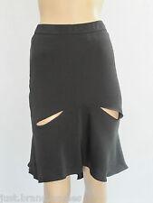 Bettina Liano Ladies Laser Cut Skirt size 6 Colour Black