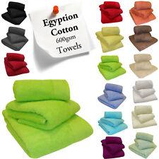 100% coton égyptien épais très doux absorbant 600g/m² serviettes carré