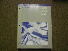 1998 HYUNDAI Parts Price List Manual OCT ACCENT SONATA FACTORY OEM BOOK 98