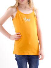 CMP haut t-shirt d'été orange haut avec bretelles élastique doux