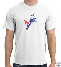 Democratic Party Donkey Vintage-Wash T-Shirt Tee tshirt