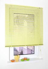 Aluminium Jalousie Fenster Rollo Jalousette Vanille - Länge 175 cm 240 cm