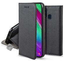 Housse etui coque pochette portefeuille pour Samsung Galaxy A20e + verre trempe