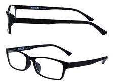 Fernbrille / Ersatzbrille / Notbrille TOM schwarz matt kurzsichtig R/L bis -3,50