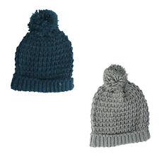 Damen wollig Mütze erhältlich in blau und grau GL493