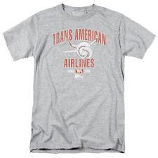 AIRPLANE TRANS AMERICAN T-Shirt Men's Short Sleeve
