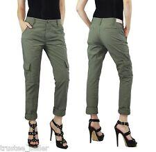 True Religion Brand Jeans  Womens Fashion Green Celina Cargo Pocket Pants
