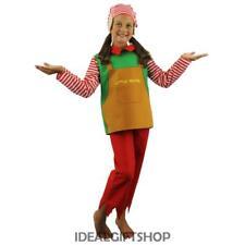 CHILDREN'S ELF FANCY DRESS COSTUME CHILDS SANTA'S LITTLE HELPER CHRISTMAS PIXIE