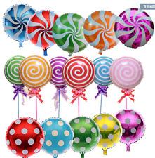 "Helium Foil Balloon - Candy, Lollipop, Palka Dot -18""/45cmWedding Birthday Party"