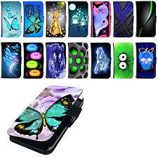 Hülle für Wiko Smartphone Tasche Schutzhülle Flip Cover Case Bumper Etui Motiv
