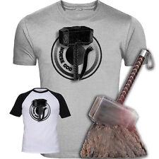 Dieu nordique Thor Inspiré T-shirt original rare design Screenprinted Avengers