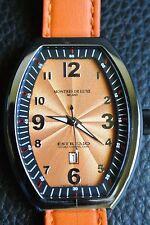 Montres De Luxe Milano Women's Estremo  Brand New Watch w/Date-List-$1,400