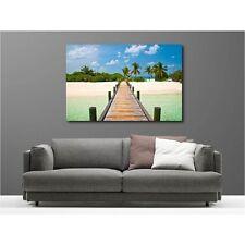 Tableaux toile déco rectangle les Maldives 53305585