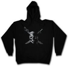 Pirate Skull Hoodie Bateau Pirate Marin Pirate Caraïbes Teach Charles Vane