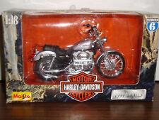Harley Motorcycle-Xl 1200C Sportster 1200 Custom-Series-6-1:18 Scale-1999