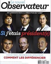 LE NOUVEL OBSERVATEUR N°2445 15 SEPTEMBRE 2011 CANDIDATS PRIMAIRE PS/ BJORK/ SPA