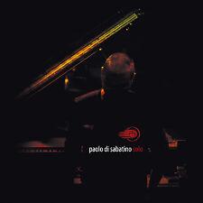 PAOLO DI SABATINO-Solo-IRMA-LIVE JAZZ PIANO-NEW CD
