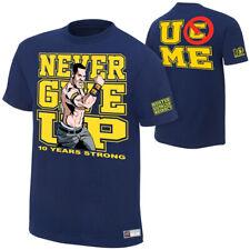WWE JOHN CENA 10 ans de fortes T-shirt officiel large,x-large XL NOUVEAU
