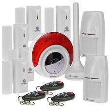 Swann NVA-460 3425C Motion Sensors Doors Windows Alarm Siren Wireless Key Fob