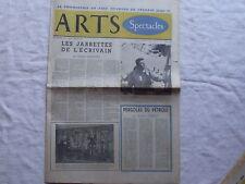 Arts spectacles,Theilhard de Chardin,dandysme,Frou Frou Journal ancien