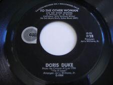Doris Duke To the Other Woman Original 1970 45rpm VG+