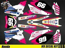 Kit Déco Moto pour / Mx Decal Kit for Honda CRF - Tesport