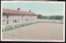 GWYNEDD VALLEY PA Normandy Farm Stable Court Strassburger Residence Vtg Postcard