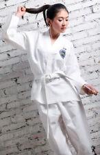 [EL] White Girl Taekwondo Uniform Sportswear Taekwondo Karate Clothing