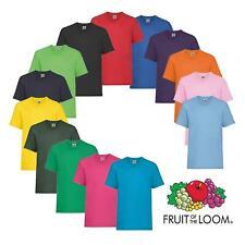 Kids Plain T-Shirt Boys Girls TShirt Age 1 2 3 4 5 6 7 8 9 10 11 12 13 14 15