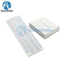 MB-102 MB102 PCB 830 Point Breadboard+Mini White Solderless Prototype Breadboard