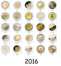 2 Euro 2016 Gedenkmünze - Alle Länder verfügbar