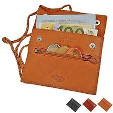 Branco kleiner flacher Brustbeutel Leder Brusttasche Security Wallet GoBago 420