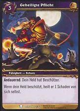 WoW - 4x Geheiligte Pflicht - Helden von Azeroth - mint