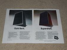JBL Century L100, 4310 Speaker Ad, 2 pg, 1974, Articles