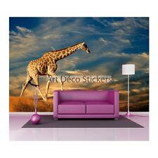 Stickers muraux géant déco : Girafe 1478