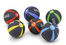 TRENAS Medizinball Gummi 1 kg 2 kg 3 kg 4 kg 5 kg PRO Gummimedizinball aus Gummi