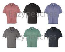 ADIDAS Golf Mens S-2XL 3XL Climalite Heathered dri fit Polo Sport Shirts A163