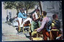 Turkey~ Constantinople ~ Outdoor SHAVING ~ Barber Shop